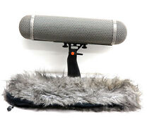 Rycote WS4 windshield mic suspension 4 blimp shock mount windjammer microphone