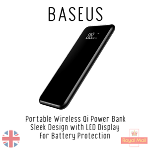 sports shoes 7a4e7 ff8d5 Details about Baseus Power Bank + Wireless CHARGER for HUAWEI P30 P20 MATE  20 PRO
