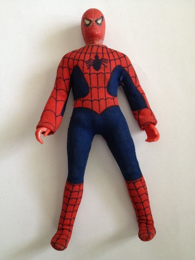 Mego 8 Inch Spiderman    ( Loose ) a8895d