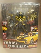 TRANSFORMERS BATTLE OPS BUMBLEBEE RARE 2010 NEW METALLIC FINISH LEADER CLASS