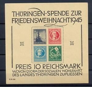 SBZ-Block-2-t-Thueringer-Weihnachtsblock-postfrisch-tiefst-geprueft-xs118