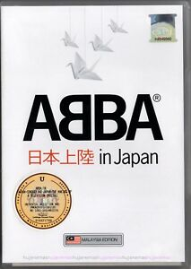 ABBA Conquering Japan 2009 MALAYSIA FLAG EDITION DVD-9 REGION - 0 NEW SEALED