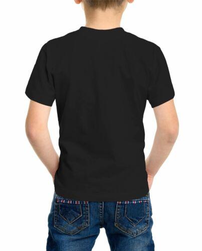 The Lion King Simba Children/'s Unisex Black T-Shirt