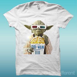 T-SHIRT-034-OBI-WAN-STAR-WARS-POP-CORN-3D-FUNNY-034-IDEA-REGALO-IDOLI-DEL-PASSATO