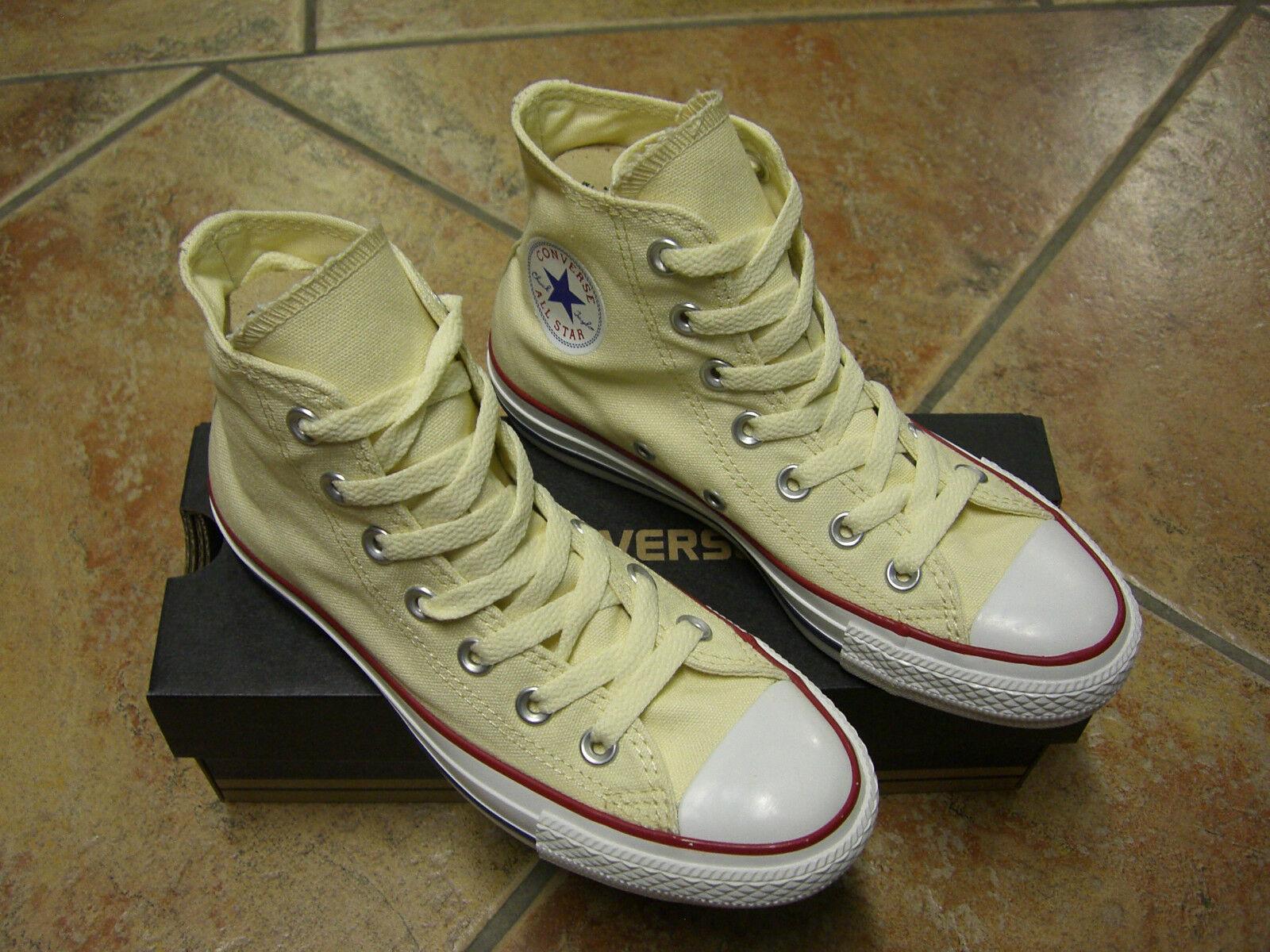 Converse Chucks All Star HI Gr.38 WEISS  WEISS  M9162 NEU