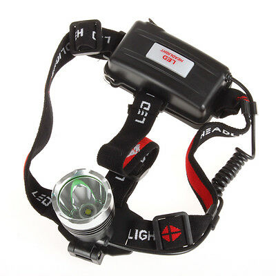 Waterproof 1600LM CREE XM-L T6 LED 3 Modes Adjustable Headlamp Head Torch Light