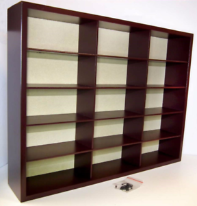 Image Is Loading ATLAS EDITIONS LOVELY WOODEN DISPLAY CABINET FOR 15