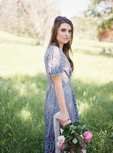3fc8627fb01b6 Image is loading NEW-Anthropologie-Genevieve-Lace-Dress-by-Moulinette-Soeurs -