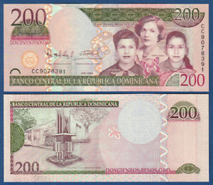 200 Pesos Oro 2009 Unc P.178a A Plastic Case Is Compartmentalized For Safe Storage Dominican Rep Have An Inquiring Mind Dominikanische