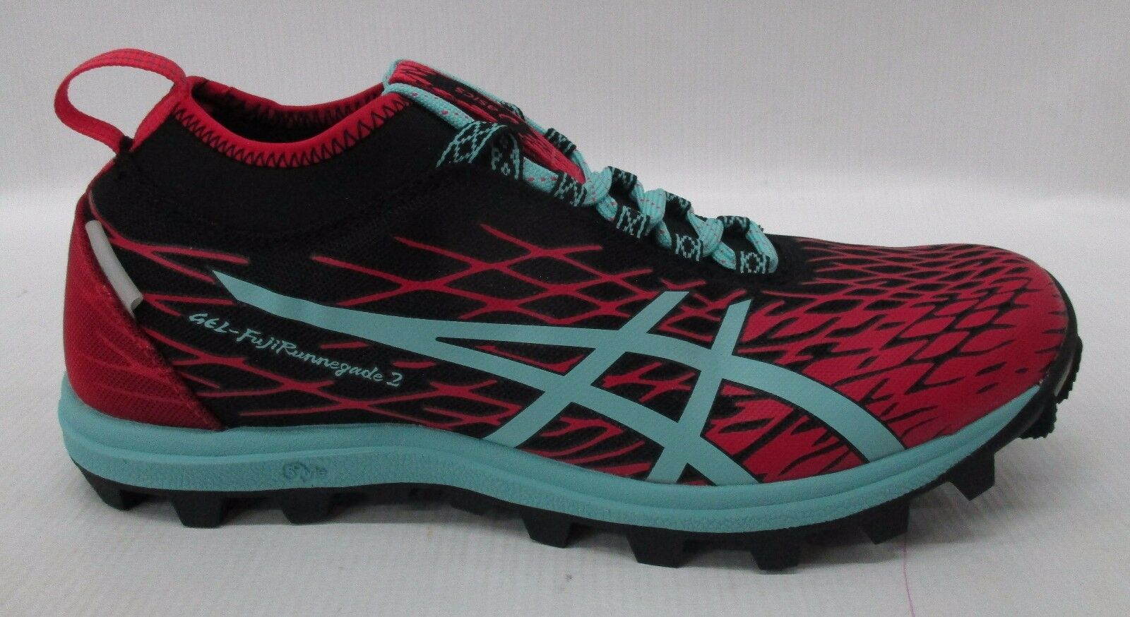 Asics Womens Gel-FujiRunnegade 2 Shoes T683N 9039 Black/Pool Blue/Azalea Sz 10.5 New shoes for men and women, limited time discount