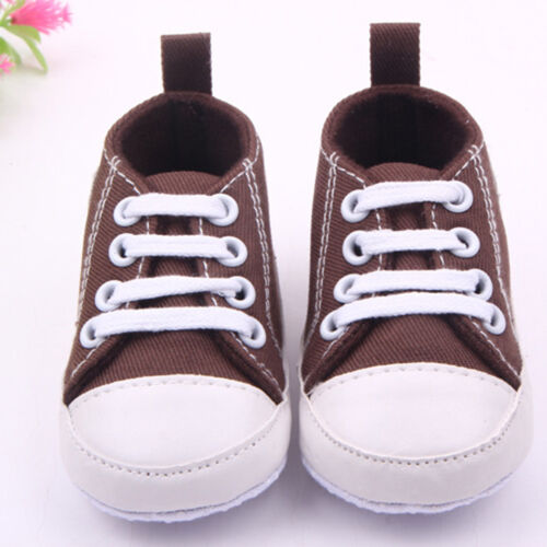 Baby Infant Soft Crib Sole Shoes Moccasin Cute Slip-on Sneakers 0-18 Months Size