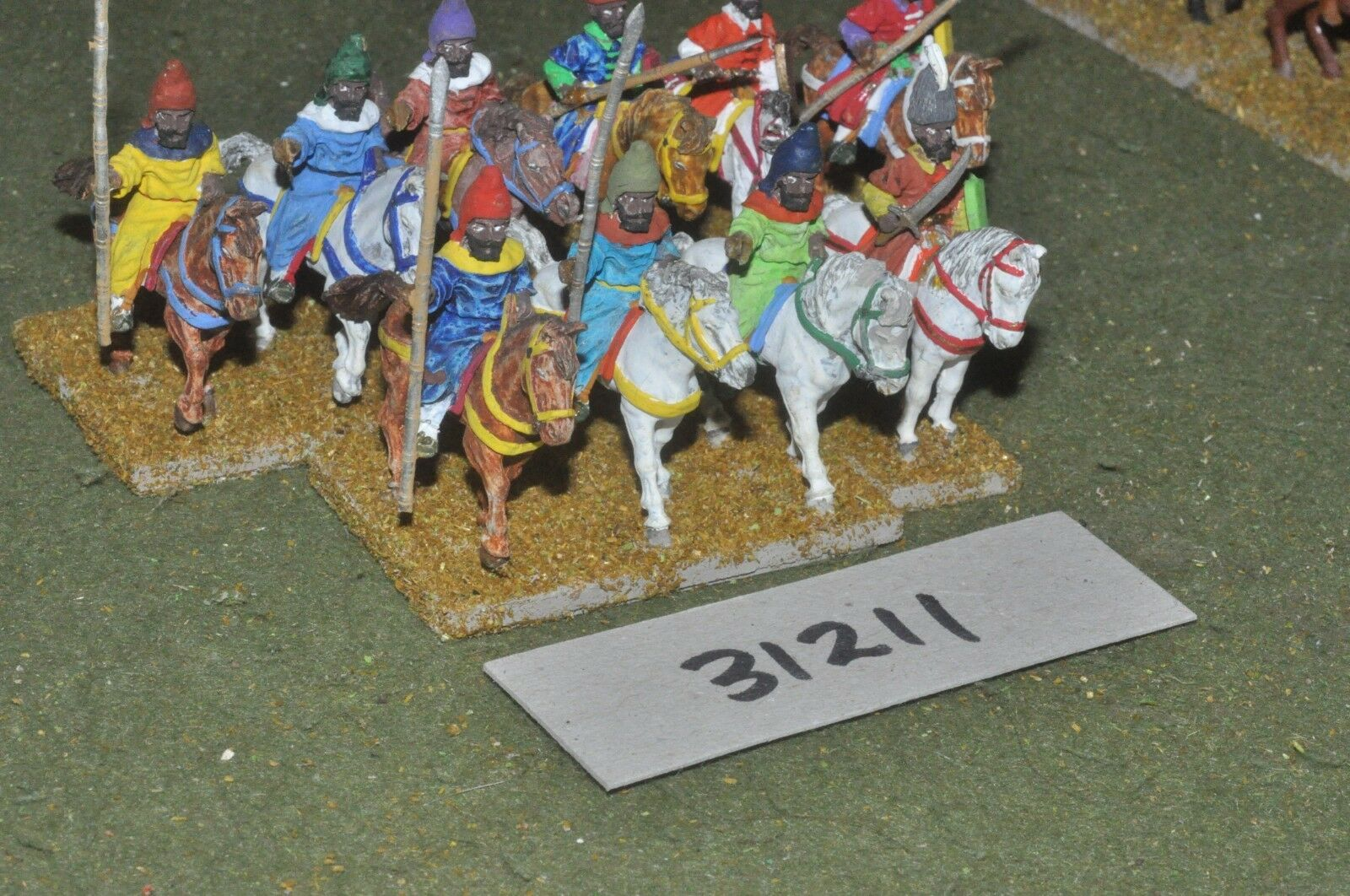 25mm renaissance   turkish - sipahis 10 figures - cav (31211)
