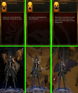 Details about Diablo 3 RoS Ps4 - Cosmetics - New 3 Wings and 3 Banners -  Softcore