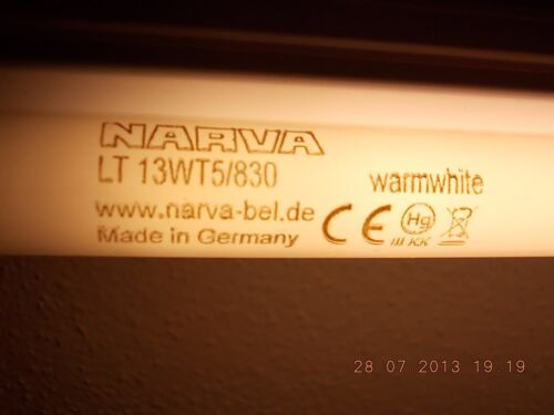 29 13w//29 warmweiss F13w//WW warm white 53 53,1 cm NARVA 13 w 13w//830 L T 13w