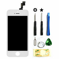 iPhone 5S LCD Display Touchscreen Retina Bildschirm Komplettset Glas Weiß
