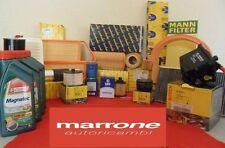 Kit tagliando filtri aria+olio CASTROL 5W40 C3 FIAT PUNTO EVO 1.4 8V 57KW BENZIN