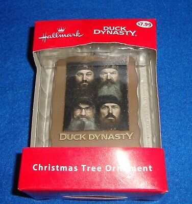 Hallmark Duck Dynasty Christmas Tree Ornament. Faith ...