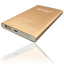 BV 4000mAh Power Bank Portable Battery Adaptor Charger USB Cable Headlight Bonus