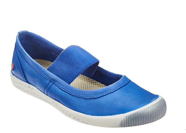 Softinos por Fly London Lavado Cuero Mary Janes Janes Janes Ion azul mujer EU35 US 5 Nuevo  el precio más bajo