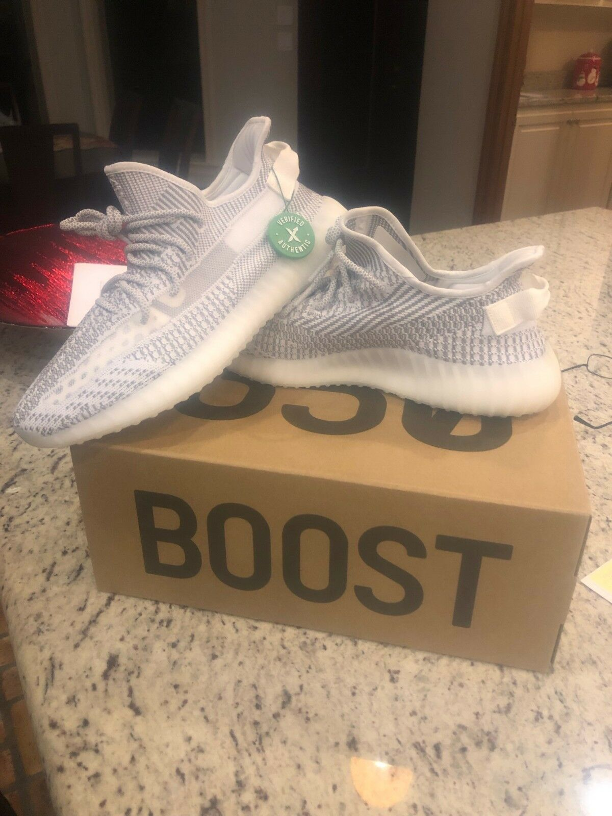 Adidas yeezy boost 350 v2 static, US Men's 12; NEW