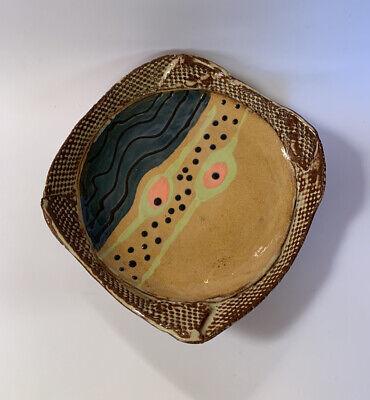MID Interior Accent Coffee Table Styling- Key Drop Dish-Decor MCM Ceramic Console Dish-VTG Ceramic Decorative  Bowl Entry Table Decor