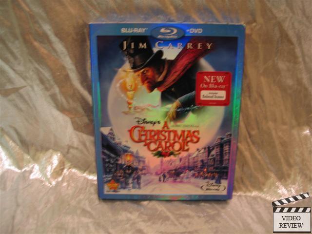 A Christmas Carol Blu-Ray Disney Animated Jim Carrey   eBay