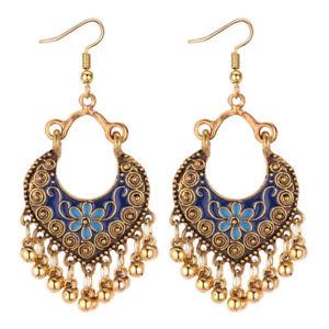 Women-Ethnic-Bohemian-Vintage-Boho-Ear-Hook-Drop-Dangle-Earrings-Jewelry