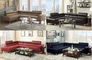 Cool Details About Sectional Sofa Couch W Wide Seating Adjustable Head Rest Living Room Furniture Creativecarmelina Interior Chair Design Creativecarmelinacom