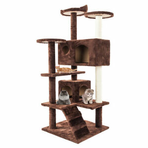 52-034-Cat-Tree-Tower-Condo-Furniture-Scratch-Post-Kitty-Pet-House-Cats-Playing