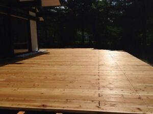 Holzterrasse Sibirische Larche Bausatz Unterbau Inkl Schrauben