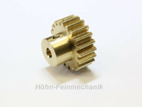 gear module 1,0 Spur gear brass 20 teeth