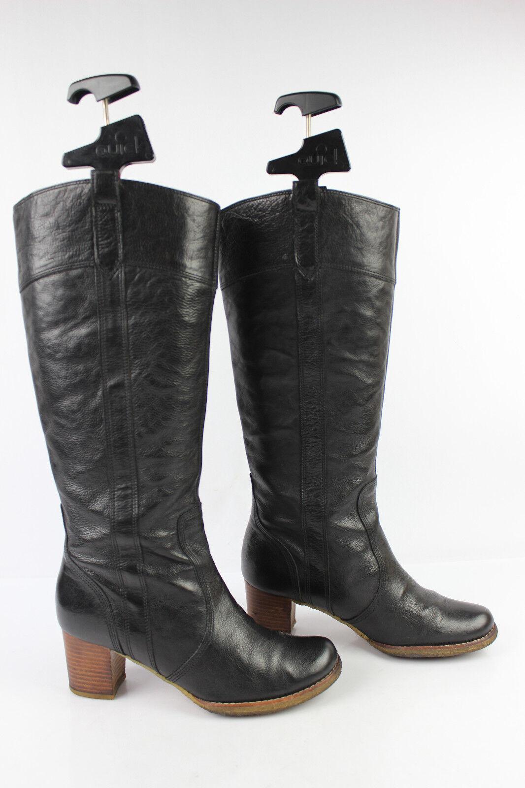 Stiefel CAMPER schwarzes Leder t 37 guter Zustand