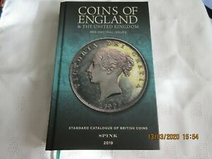 SPINKS-COINS-OF-ENGLAND-amp-THE-UNITED-KINGDOM-2019-Predecimal-volume