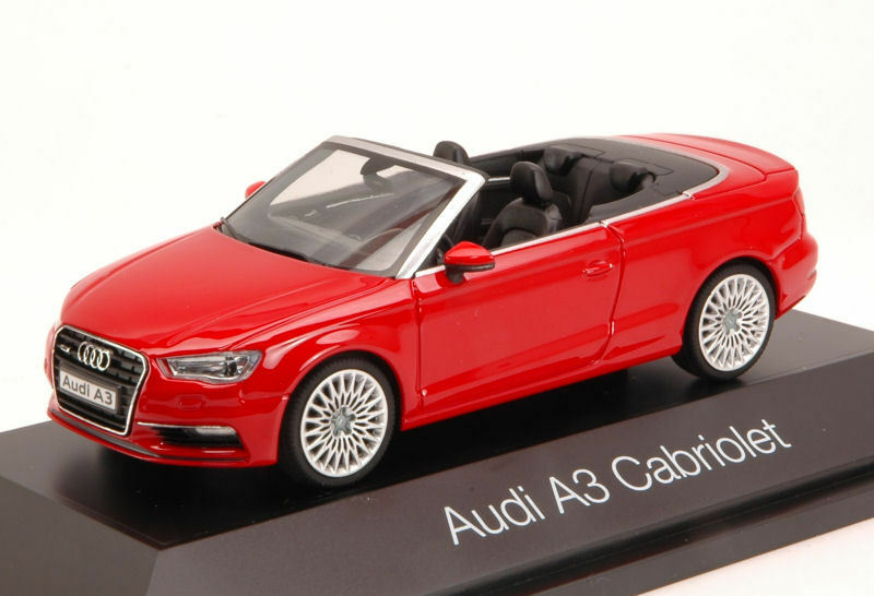 Audi a3 cabrio 2013 red 1 43 model herpa