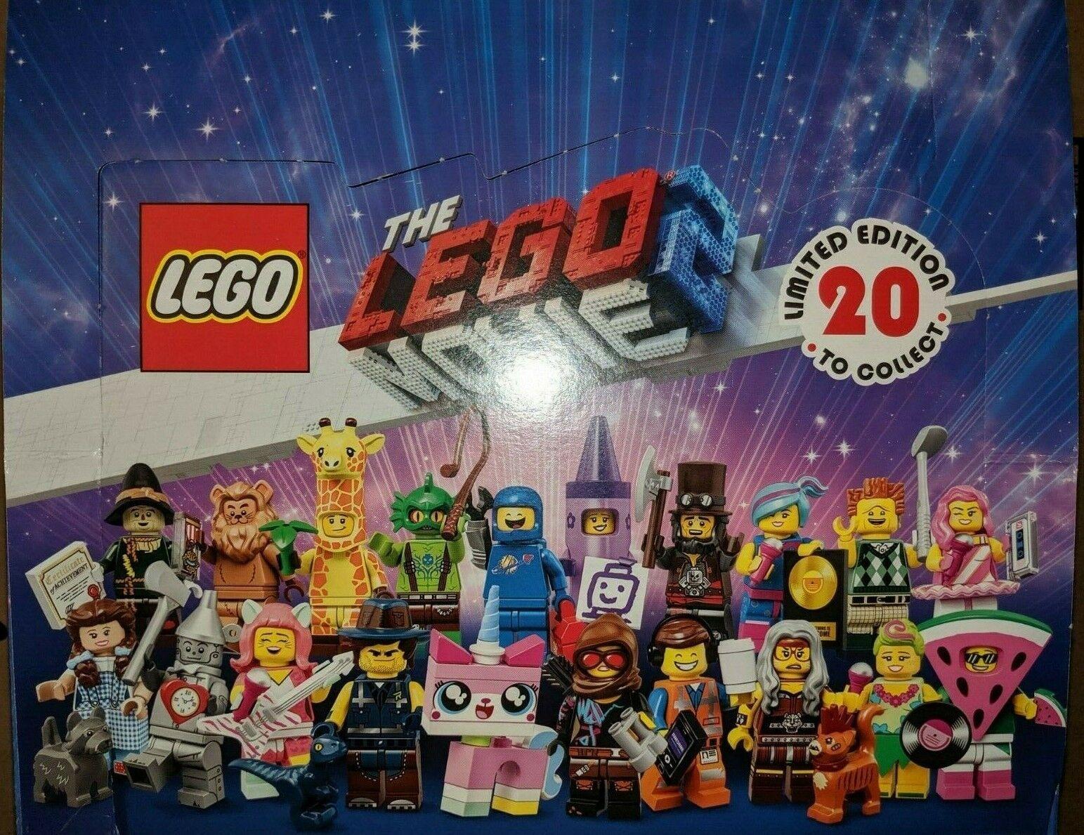 Lego Minifigurer The Lego Movie 2 Case in lådaBRAND NY SEALD 71023
