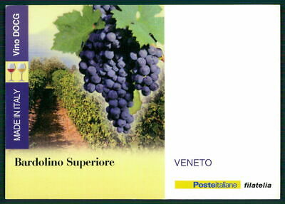 "Kraftvoll Italien Werbekarte ""made In Italy"" Weinanbau Wein Wine Trauben Veneto Ed51"