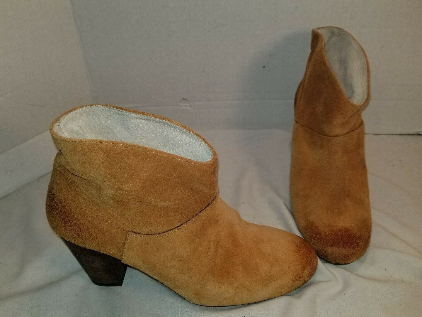 NEW JEFFREY CAMPBELL X PEOPLE FREE PEOPLE X WESTMONT BROWN HEEL Stiefel Damenschuhe US 8 EUR 38 e9665e