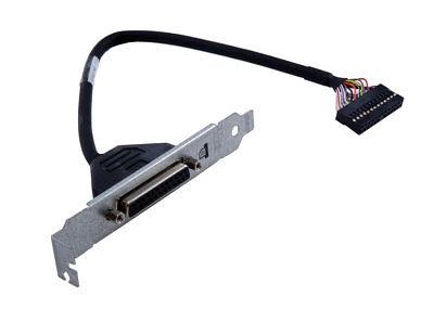 HP Parallel Printer Port Adapter 611900-001 Bracket 25-pin Low Profile