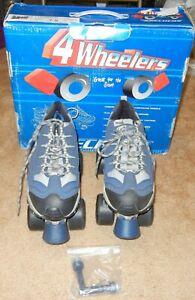 size 11.5 mens SKECHERS 4 WHEELER ROLLER SKATES skate quad derby boys adult NIB   eBay
