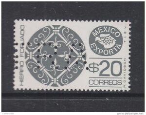 O-1980-MEXICO-MEXICO-EXPORTA-WROUGHT-IRON-SPECIMEN-MUESTRA-MNH