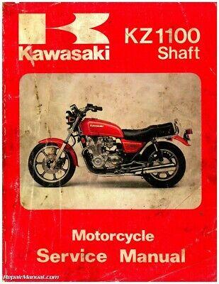 kawasaki 1981-1983 kz1100 1984-1985 zn1100 shaft drive motorcycle ... kawasaki z 1100 wiring diagram  ebay