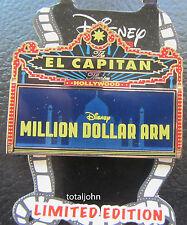 Disney DSF DSSH Million Dollar Arm Marquee - El Capitan Theatre Pin