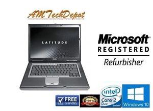 Dell-Latitude-D830-Intel-Core-Duo-4GB-RAM-250GB-HDD-Laptop-Win10-Pro-64-Bit