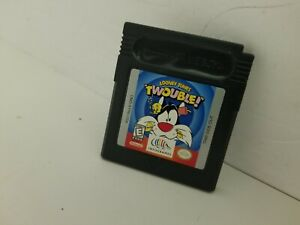 LOONEY TUNES TWOUBLE game for Gameboy Color Cartridge Only Cleaned & Tested N26