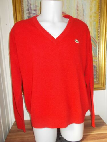 Acrylique Col France 6 In Xl Pull Taille Rouge V Lacoste Devanlay wAqCRX