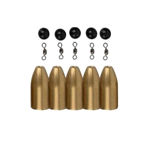 Savage Gear Brass Bullets Kit Texas /& Carolina Rig Drop Shot Blei versch Größen