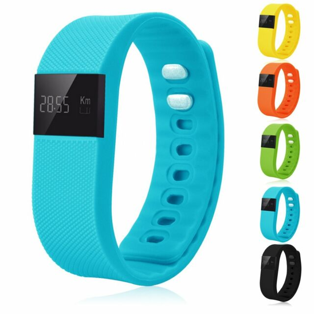 Bluetooth Smart Watch Water Resistant Wristband Pedometer Sleep Healthy Monitor