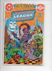 JUSTICE-LEAGUE-OF-AMERICA-1-Annual-VF-NM-Wonder-Woman-Superman-DC-1983