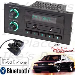 Steckdose online 100% Zufriedenheitsgarantie erstklassig Details about RetroSound 91-96 Impala/Caprice Newport  Radio/RDS/Bluetooth/iPod/3.5mm AUX-In