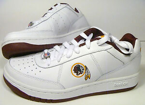 e0f5cf74f6cb Image is loading Washington-Redskins-Reebok-White-Recline-Shoes-Mens-3-